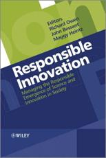 ISBN: 9781119966357 - Responsible Innovation