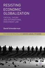 ISBN: 9781137004055 - Resisting Economic Globalization