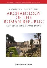 ISBN: 9781405199667 - A Companion to the Archaeology of the Roman Republic