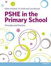 ISBN: 9781408259573 - PSHE in the Primary School