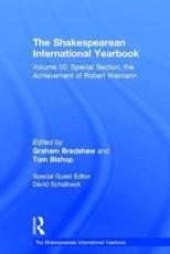 ISBN: 9781409408581 - Shakespearean International Yearbook