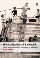 ISBN: 9781409439776 - Architectures of Childhood