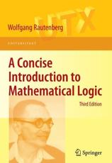 ISBN: 9781441912206 - A Concise Introduction to Mathematical Logic