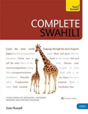 ISBN: 9781444105629 - Teach Yourself Complete Swahili