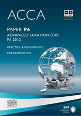 ISBN: 9781445366562 - ACCA - P6 Advanced Taxation FA