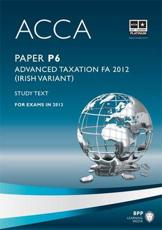 ISBN: 9781445372853 - ACCA P6 Irish Tax
