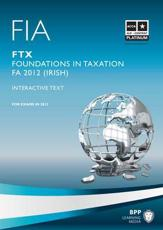 ISBN: 9781445372860 - ACCA/FIA (T9) Foundation in Taxation FTX Irish Variant