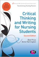ISBN: 9781446256442 - Critical Thinking and Writing for Nursing Students