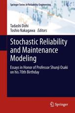 ISBN: 9781447149705 - Stochastic Reliability and Maintenance Modeling