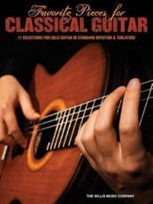 ISBN: 9781476812892 - Favorite Pieces for Classical Guitar