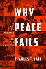 ISBN: 9781589018945 - Why Peace Fails