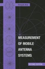 ISBN: 9781608075416 - Measurement of Mobile Antenna Systems