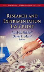 ISBN: 9781613242896 - Research & Experimentation Tax Credit