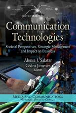 ISBN: 9781622577682 - Communication Technologies