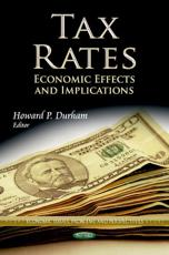 ISBN: 9781624172151 - Tax Rates