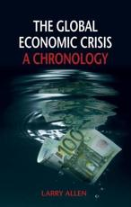 ISBN: 9781780230924 - The Global Economic Crisis