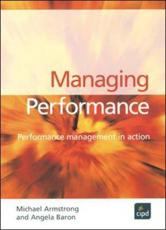 ISBN: 9781843981015 - Managing Performance