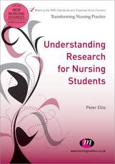 ISBN: 9781844453689 - Understanding Research for Nursing Students