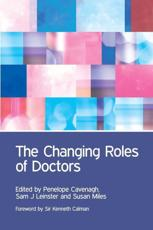 ISBN: 9781846199912 - The Changing Roles of Doctors