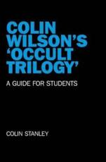 ISBN: 9781846947063 - Colin Wilson's 'occult Trilogy'