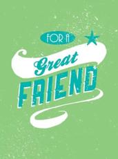 ISBN: 9781849532884 - For a Great Friend