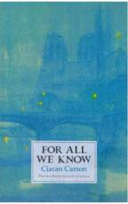 ISBN: 9781852354398 - For All We Know