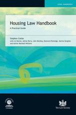 ISBN: 9781853286841 - Housing Law Handbook