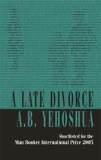 ISBN: 9781870015950 - A Late Divorce