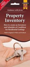 ISBN: 9781907765575 - Property Inventory Form Pack