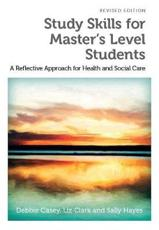 ISBN: 9781908625175 - Study Skills for Master's Level Students