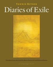 ISBN: 9781935744580 - Diaries of Exile