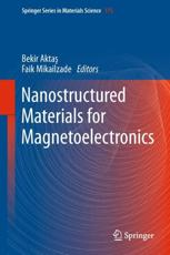 ISBN: 9783642349577 - Nanostructured Materials for Magnetoelectronics
