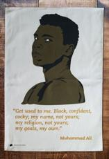 Muhammad Ali Tea Towel
