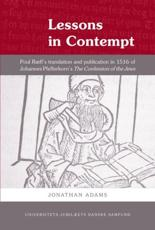 ISBN: 9788776746803 - Lessons in Contempt