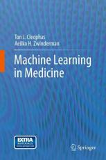 ISBN: 9789400758230 - Machine Learning in Medicine