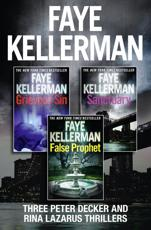 Peter Decker 3-Book Thriller Collection