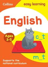 English. Ages 4-5