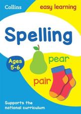 Spelling. Ages 5-6