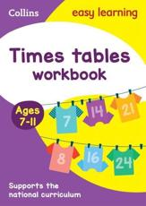 Times Tables Workbook Ages 7-11 KS2