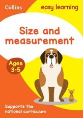 Size and Measurement. Ages 3-5