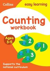 Counting. Age 3-5 Workbook