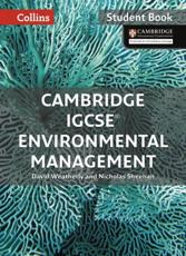 Cambridge IGCSE Environmental Management Student Book