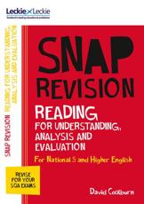 N5/Higher English. Reading for Understanding, Analysis and Evaluation