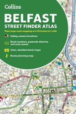 Collins Belfast Streetfinder Colour Atlas
