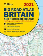 2021 Collins Big Road Atlas Britain