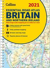 2021 Collins Essential Road Atlas Britain
