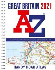 Great Britain A-Z Handy Road Atlas 2021