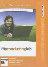 NEW MyLab Marketing with Pearson eText -- Access Card -- for Principles of Marketing