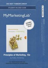 NEW MyLab Marketing With Pearson eText -- Standalone Access Card -- For Principles of Marketing