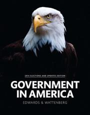 Government in America, 2014 Election Edition Plus NEW MyPoliSciLab for American Government -- Access Card Package